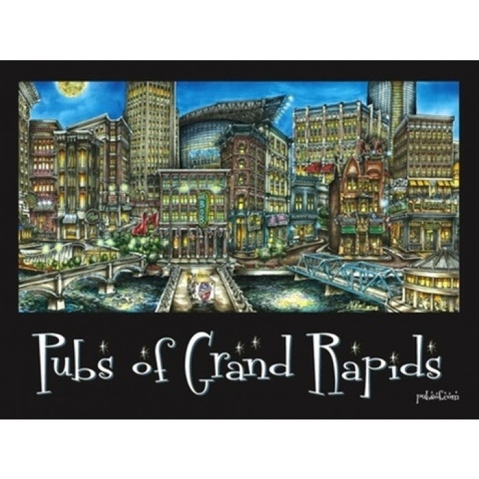 Pubs Of Grand Rapids Poster