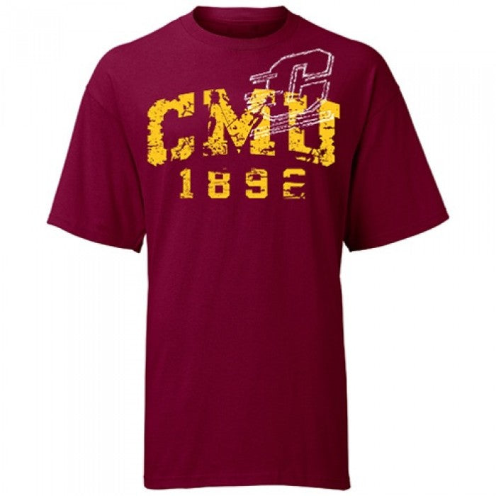 Distressed Logo CMU DLS T-Shirt