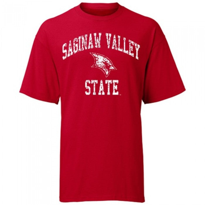 Weathered Arched Logo SVSU ASW T-Shirt