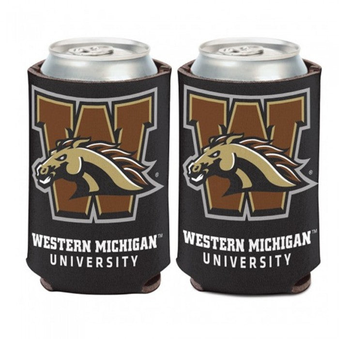 WMU Bronco Can Cooler