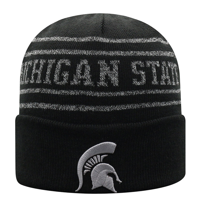 MSU State Spartans Cuffed Knit Hat