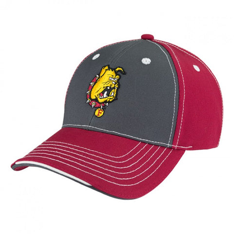 Ferris State Tri-Color Adjustable Hat