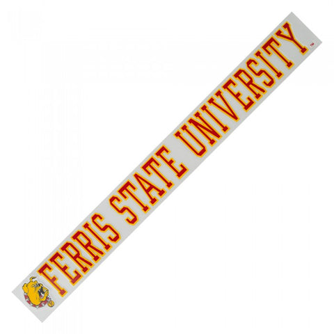 Ferris State Strip Decal