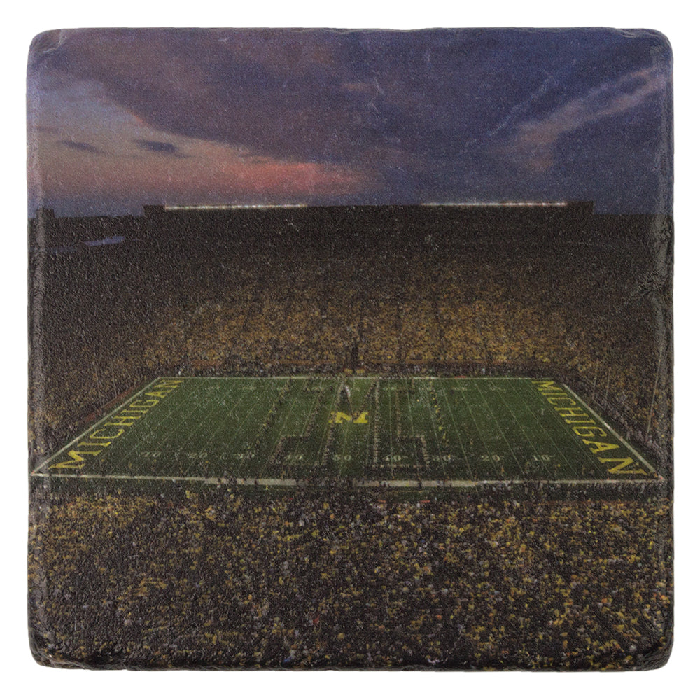 UM Night Game Coaster