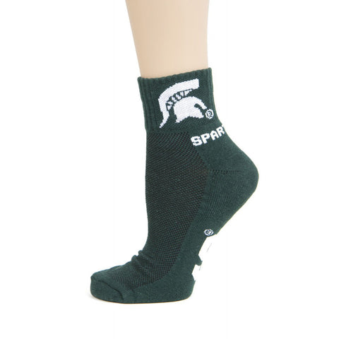 Spartans Ankle MSU Socks