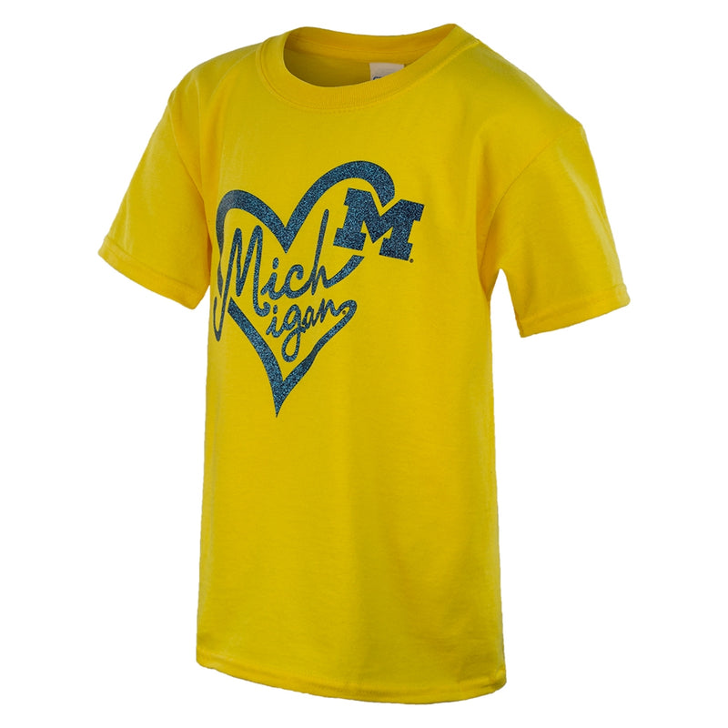 Script Heart UM HNL Youth T-Shirt