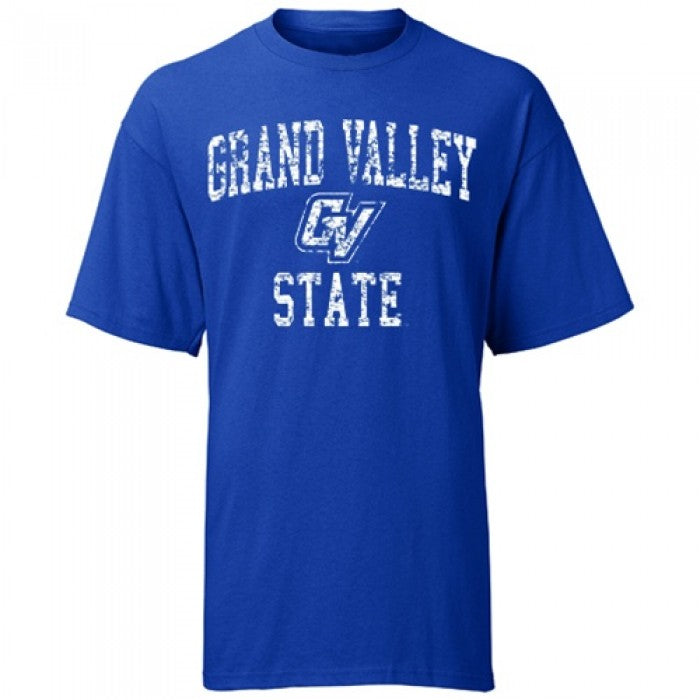 Weathered Arched Logo GVSU ASW T-Shirt
