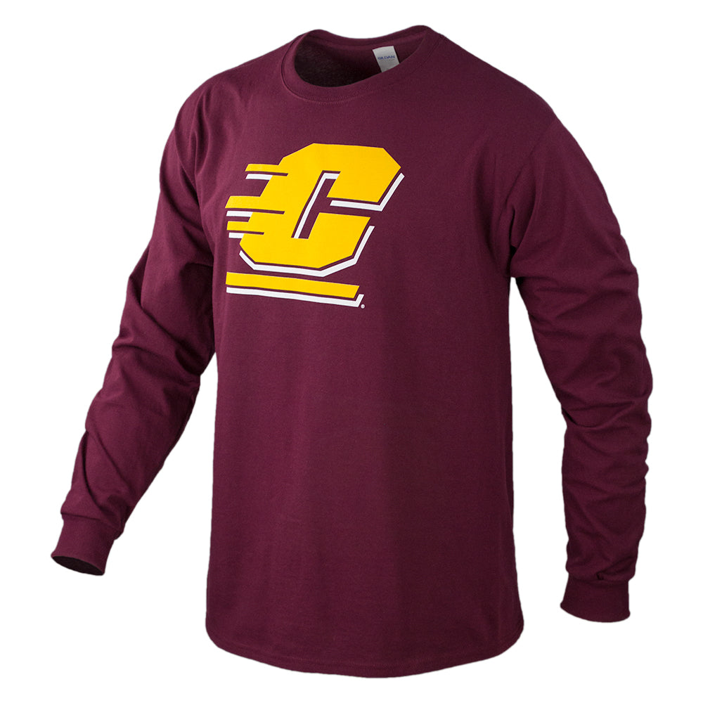 Central Logo CMU OL2 Long Sleeve T-Shirt