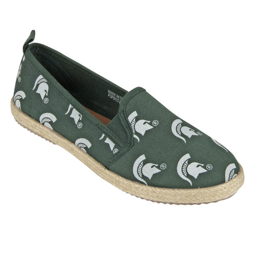 Ladies MSU Espadrille Shoes
