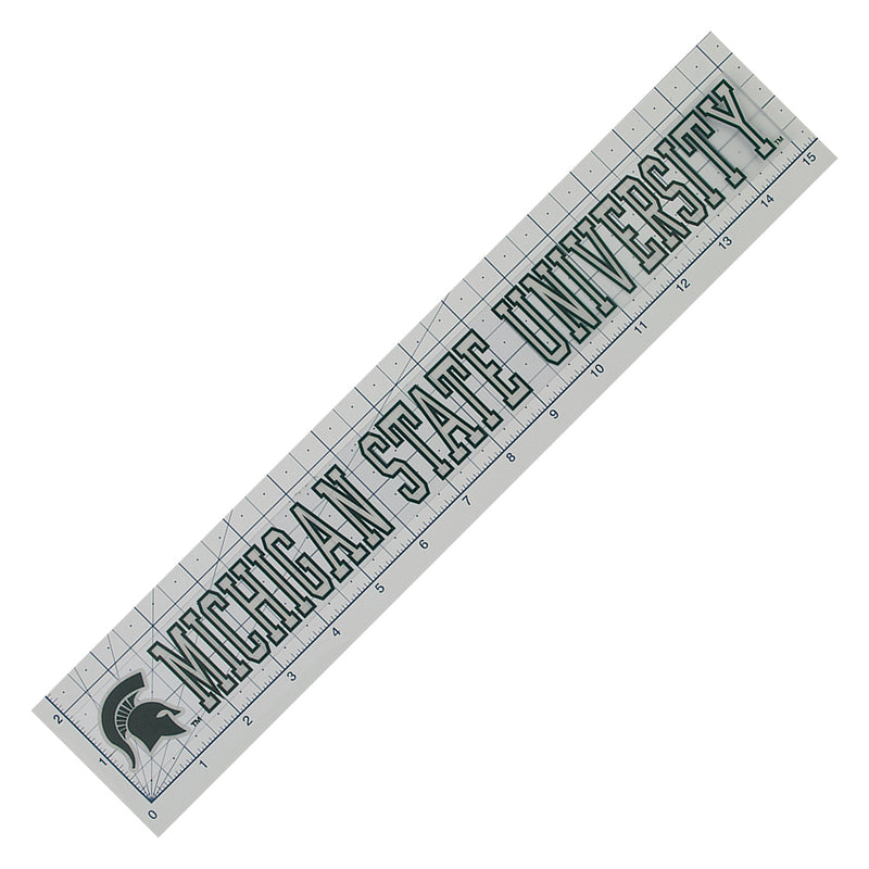 MSU Static Strip Decal