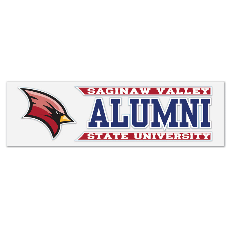Alumni SVSU Window Decal