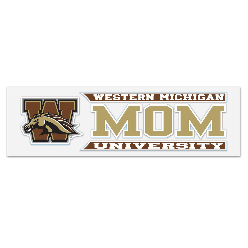 Mom WMU Decal