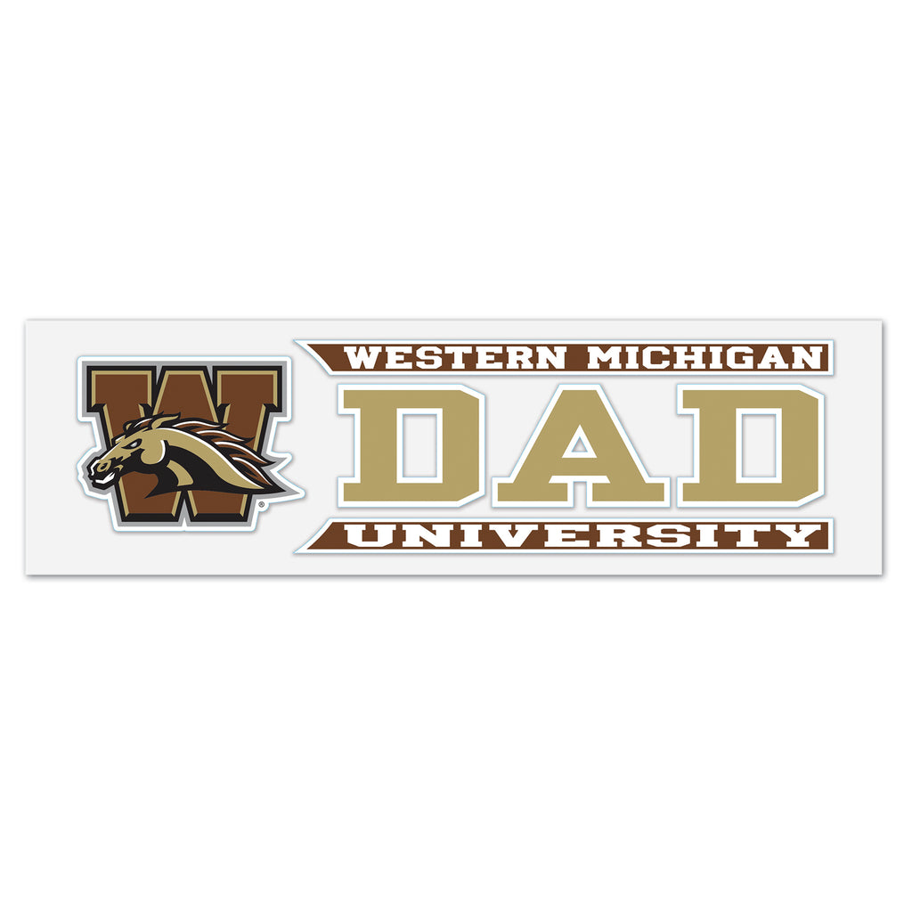 WMU Dad Decal