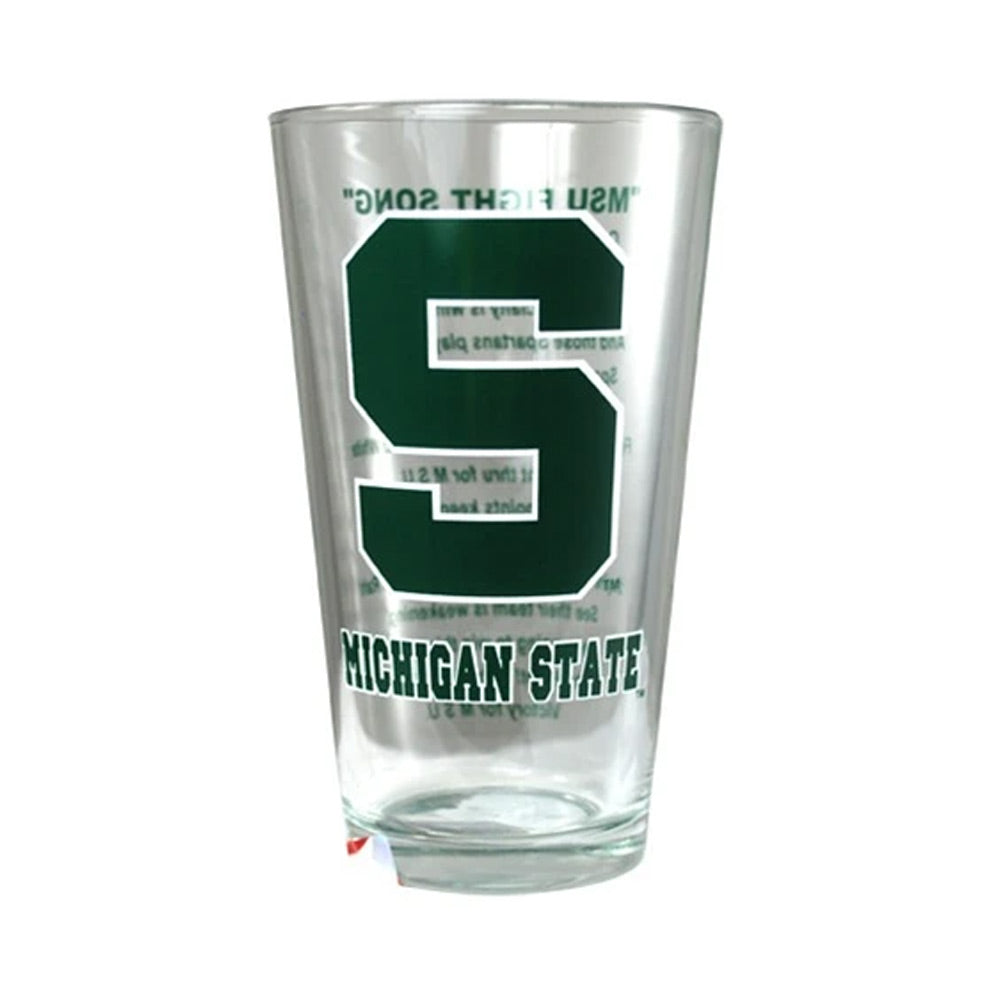 Fight Song MSU Pint Glass
