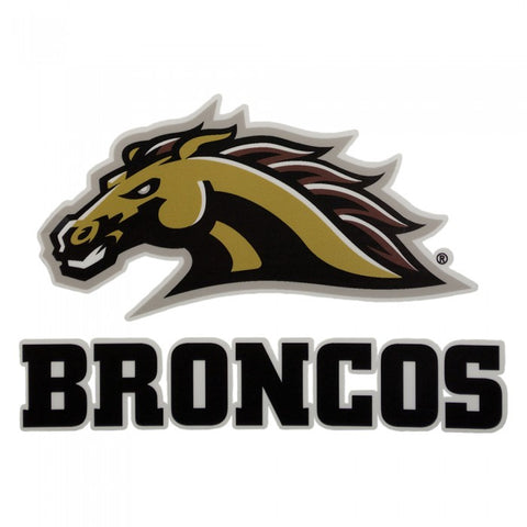 WMU Broncos Decal