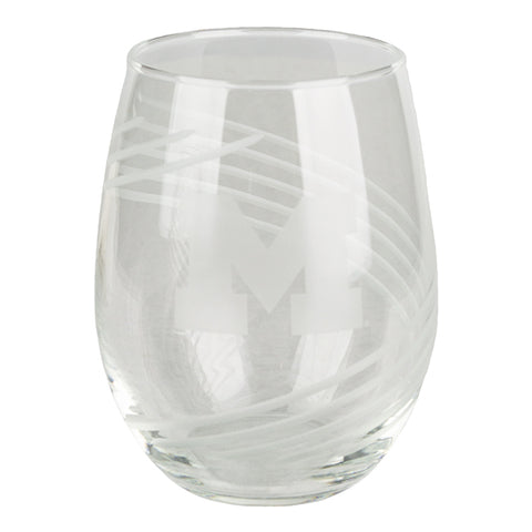 Wine Glass Etched