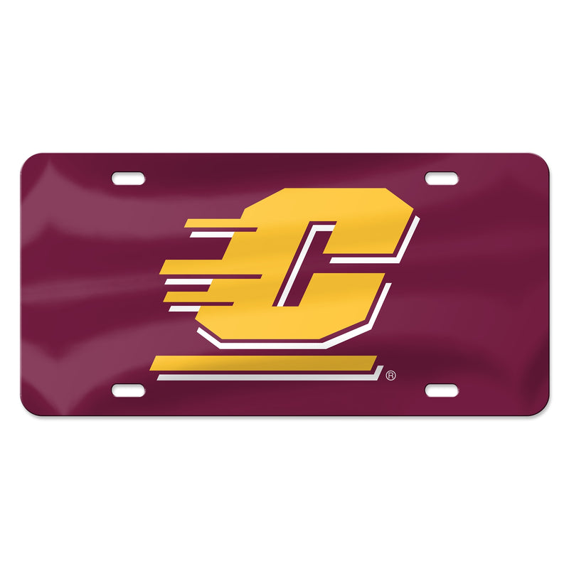 "CMU Flying ""C"" License Plate"