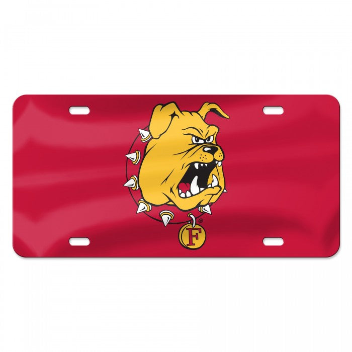Ferris State Bulldog License Plate