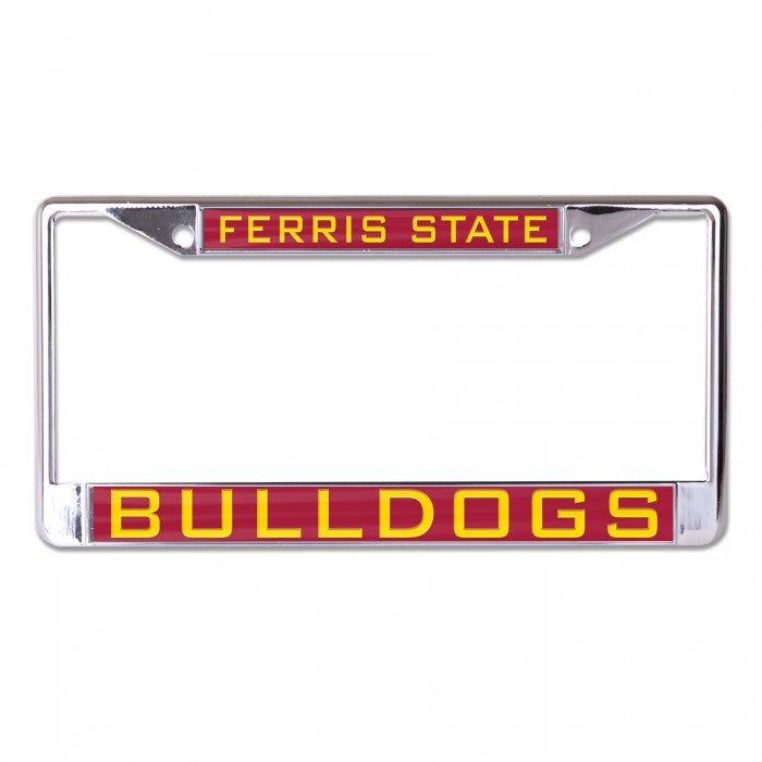 Ferris State Bulldogs License Plate Frame