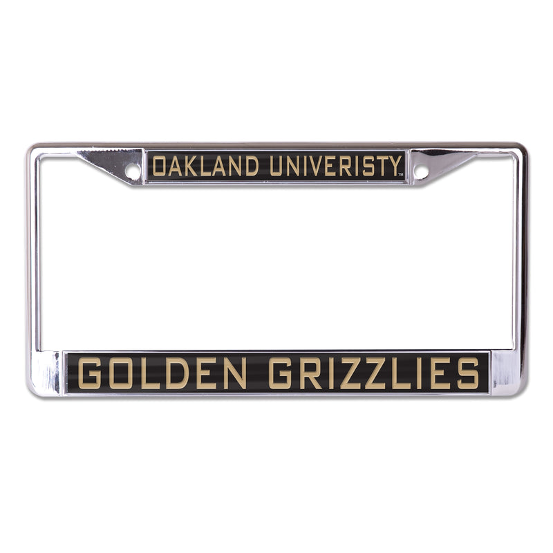 Oakland Golden Grizzlies License Plate Frame