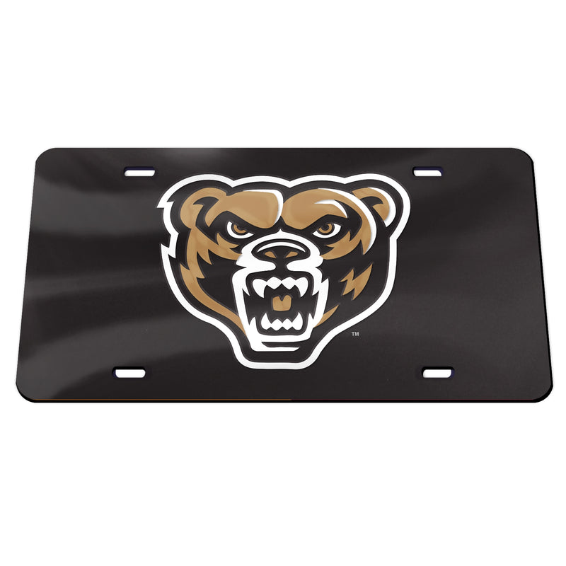 Oakland Golden Grizzly Mirrow License Plate