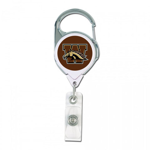 Retractable WMU Badge Holder