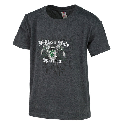 Wings Spread MSU WLS Youth T-Shirt