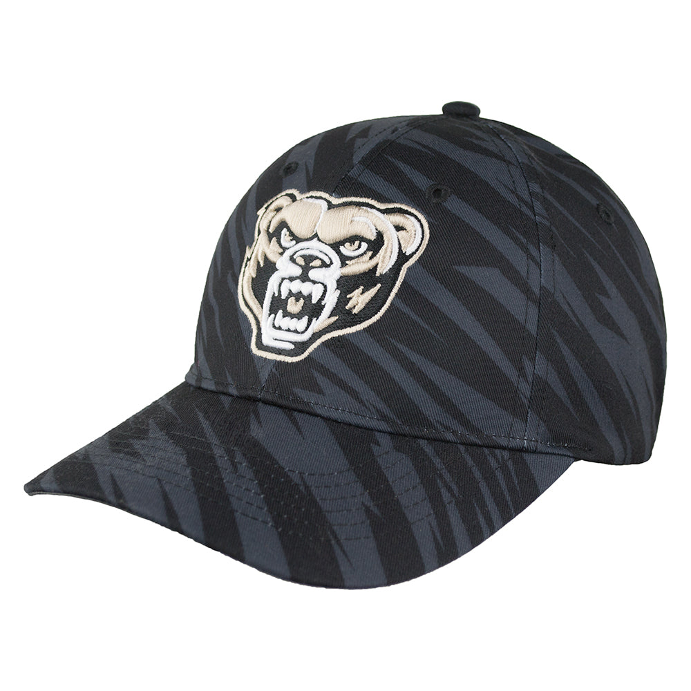 Oakland Streak Camo Adjustable Hat