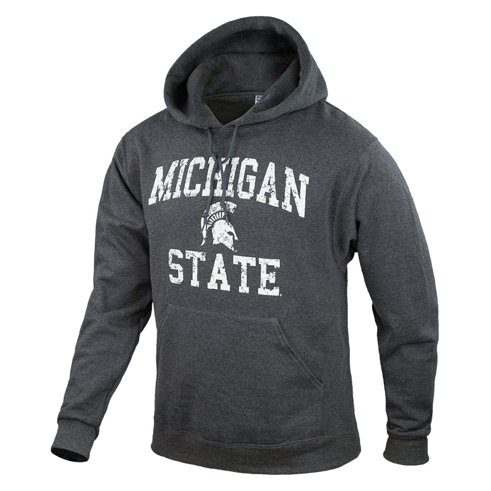 Weathered Arched Logo MSU ASW Hoodie