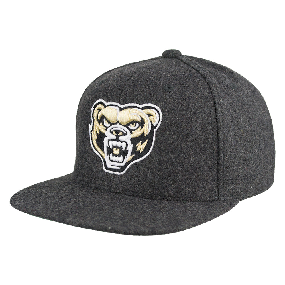 Oakland Melton Wool Snapback Hat