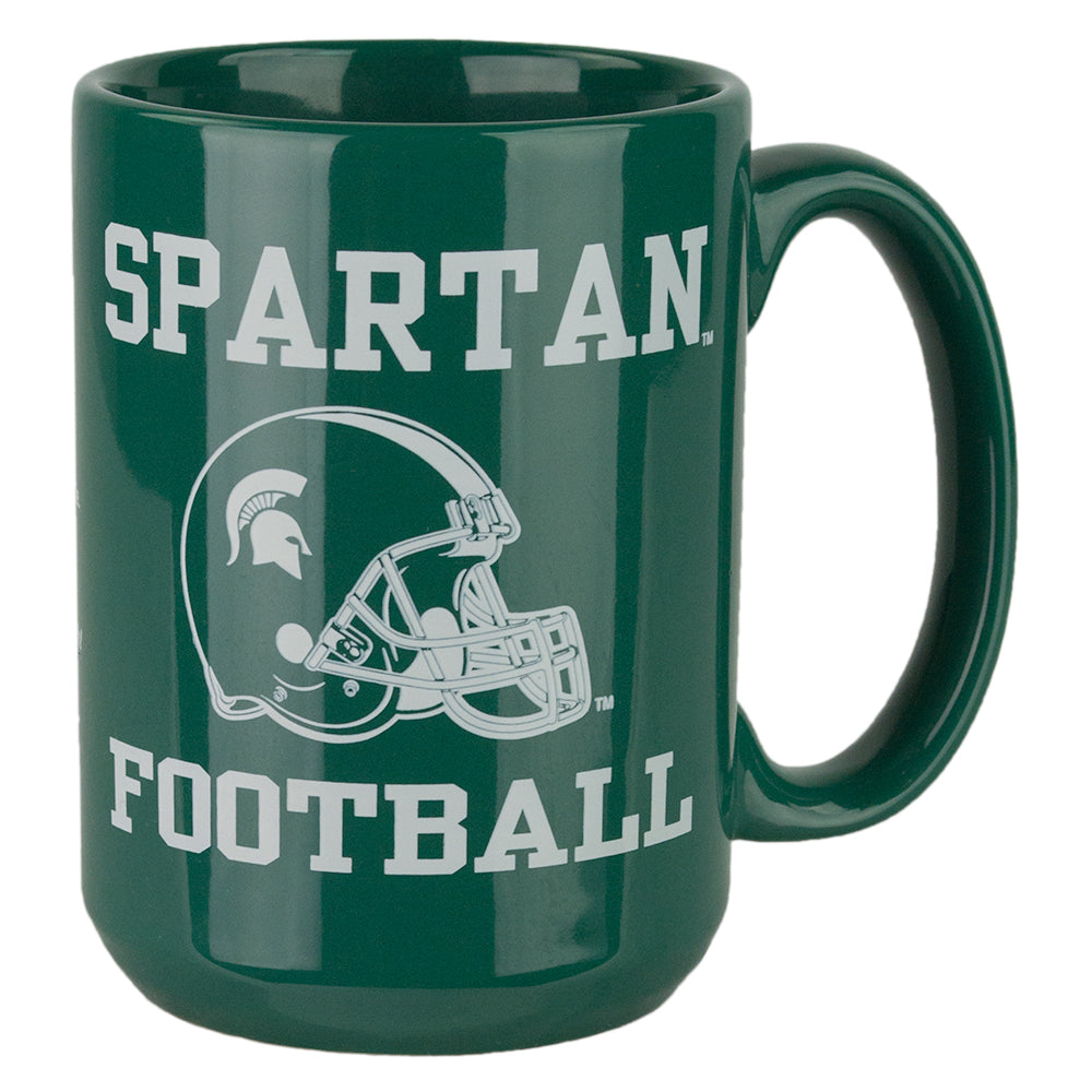 MSU Football Fight Song Mug
