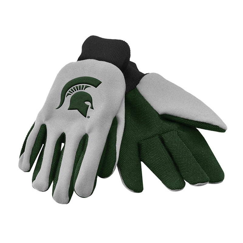 MSU 2 Color Work Gloves