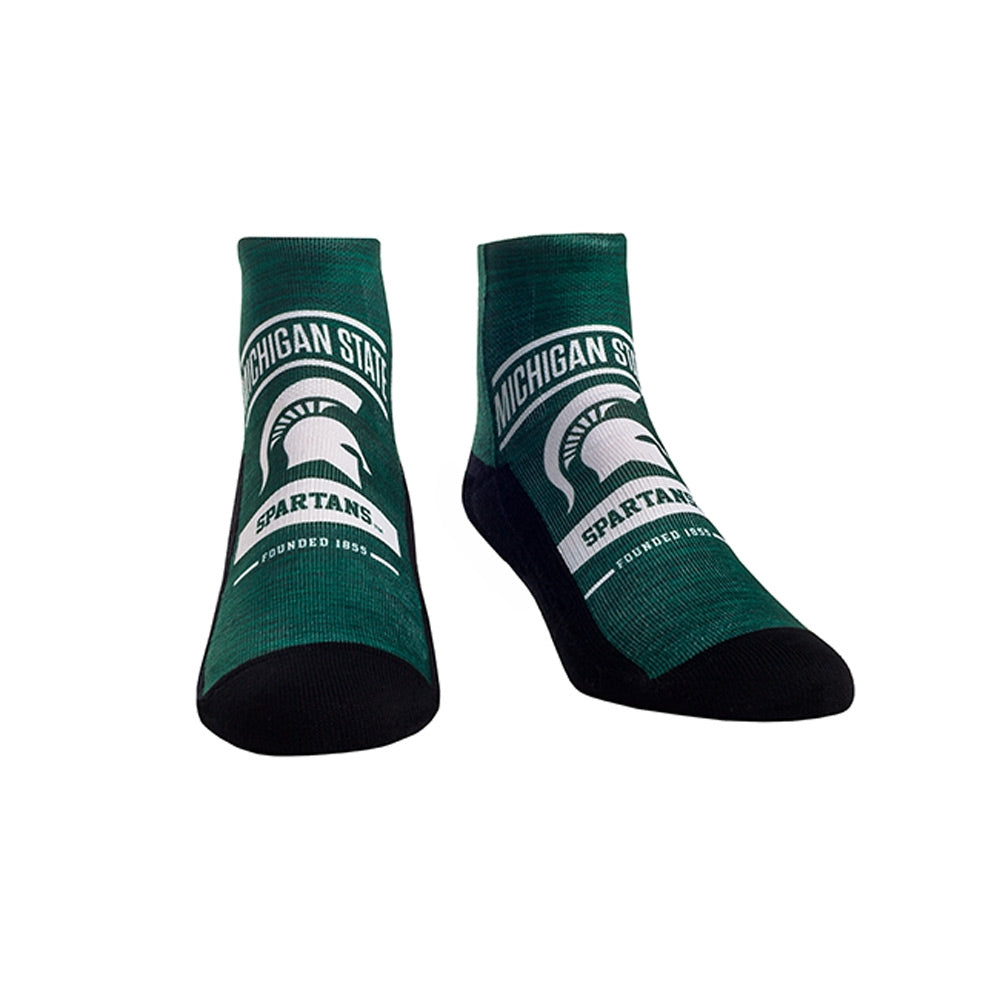 MSU Icon Arch Socks