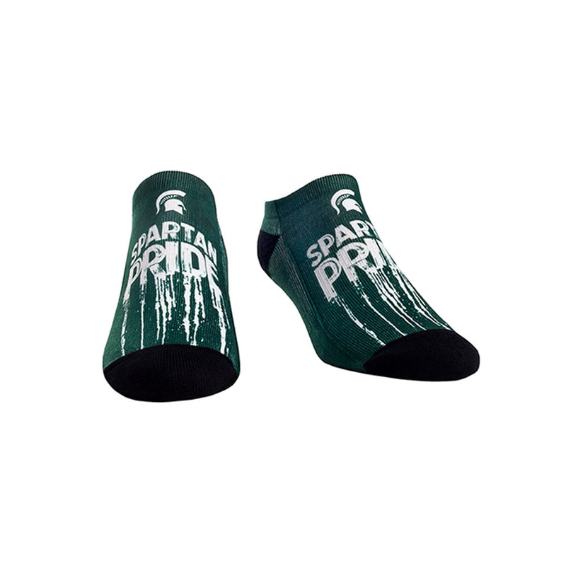 MSU Grit Pride Low Cut Socks