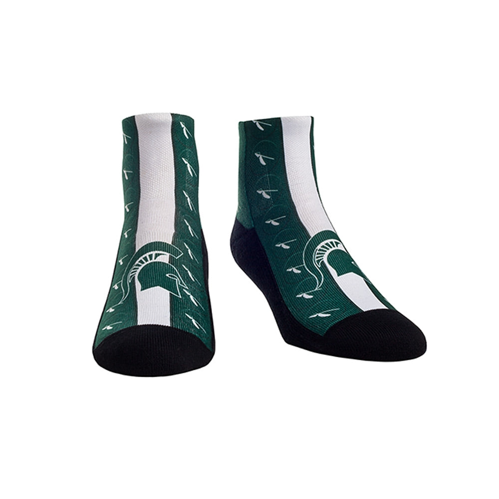 MSU Youth Helmet Socks