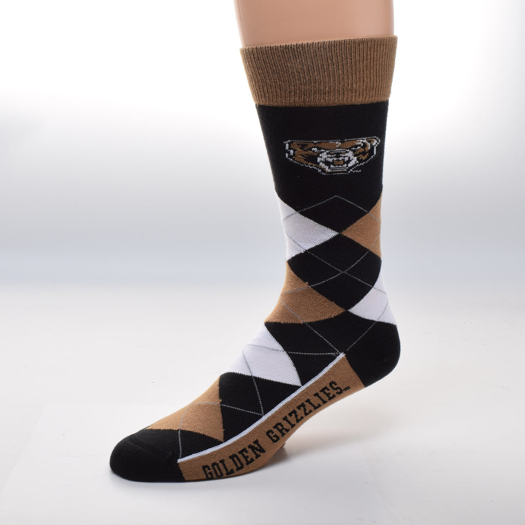 Argyle Oakland Socks