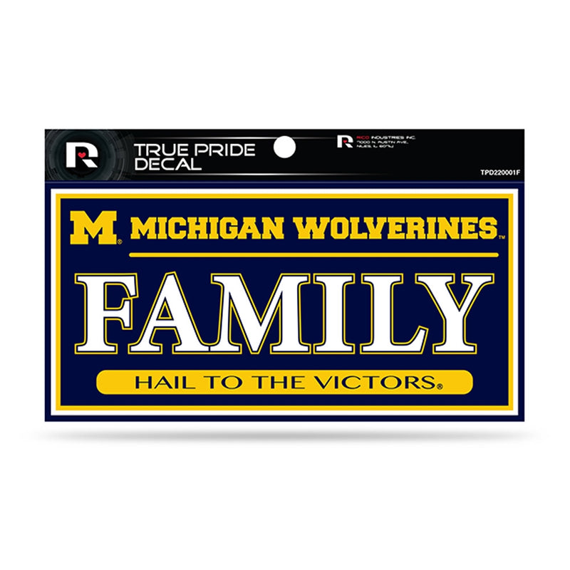 UM Family Pride Decal