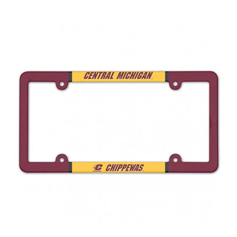 Full Color CMU License Plate Frame