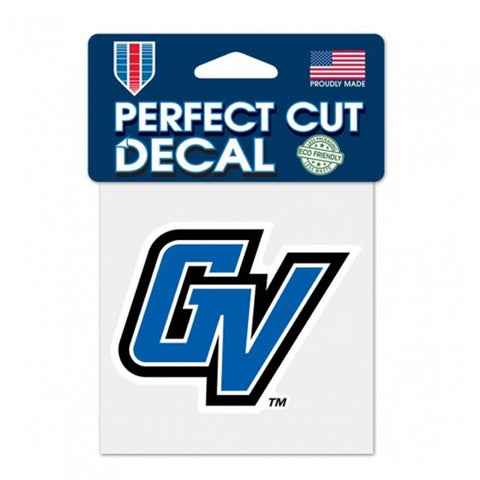 """GV"" GVSU Decal"
