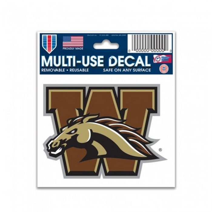 WMU Horse Decal