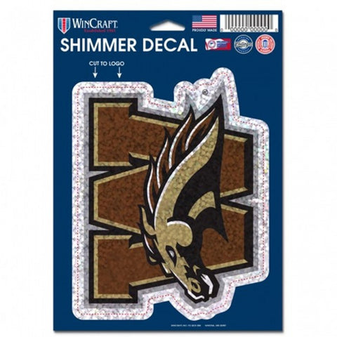 WMU Shimmer Decal