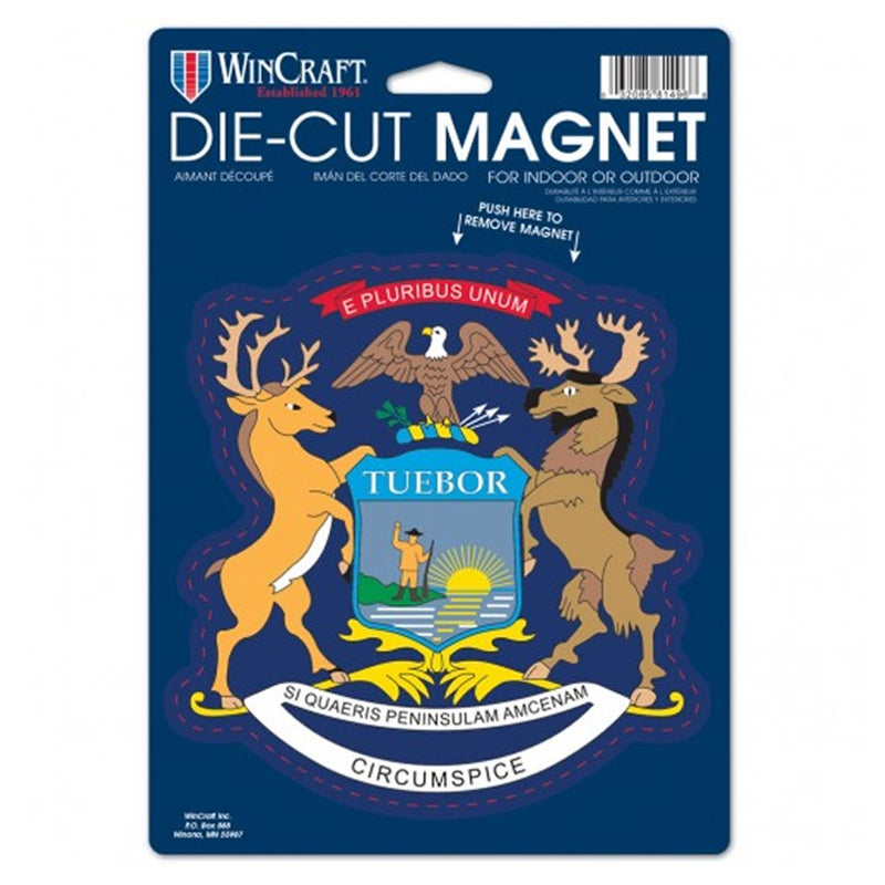 GR8ST8 Michigan Seal Magnet