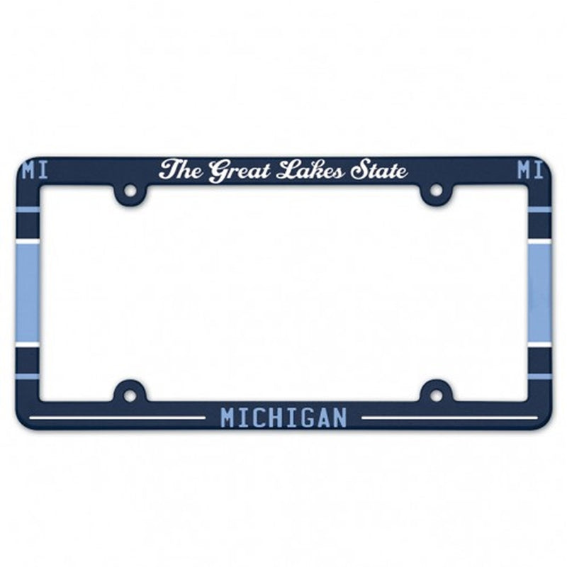 GR8ST8 Great Lakes License Plate Frame