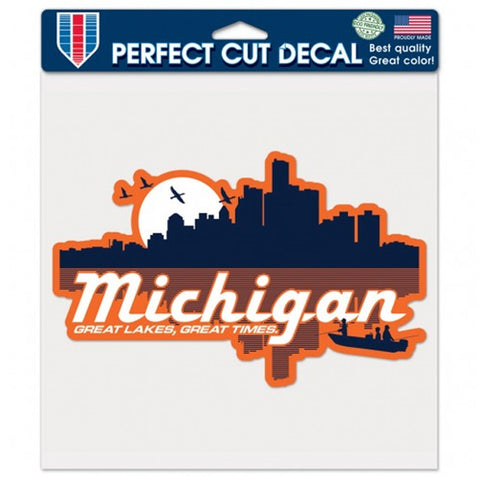 GR8ST8 Michigan Decal