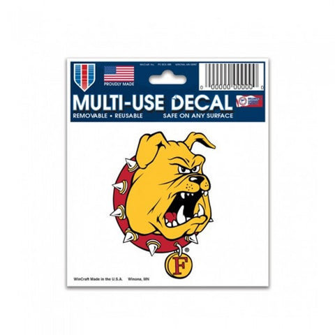 Ferris State Bulldog Decal