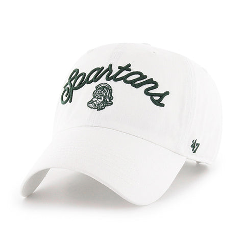 Ladies  Script Spartans/Gruff MSU Hat