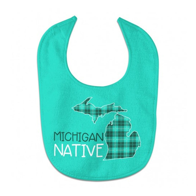 GR8ST8 Michigan Native Baby Bib