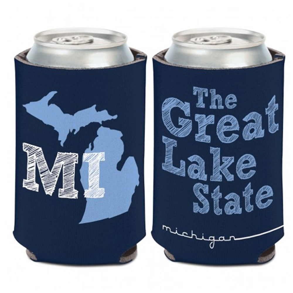 GR8ST8 The Great Lake State Can Cooler