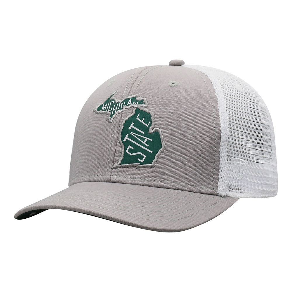 MSU State Of Michigan Mesh Adjustable HAt