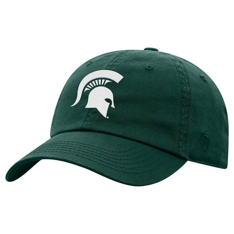 Ladies MSU Crew Spartan Head Adjustable Hat
